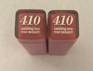 (2) Covergirl Colorlicious Lipstick, 410 Ravishing Rose