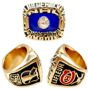 1976 Montreal Canadiens Championship Ring #LAFLEUR Stanley Cup Size 8-13. Rare