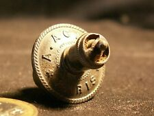 For Bottle Of Perfume Antique Stopper Metal Agnel Paris New of Stock