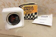 NOS VEGLIA 52mm 60-0-60 AMMETER GAUGE CLASSIC FIAT LANCIA ALFA ROMEO MASERATI