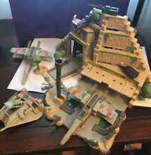 Micro Machines Star Wars Action Fleet Yavin Rebel Base (3 Planes No Figures)