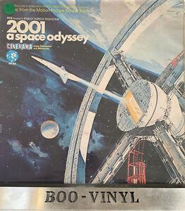 2001 A SPACE ODYSSEY SOUNDTRACK VINYL LP - MGM EX / EX CON
