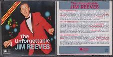Unforgettable JIM REEVES Collector's Edition READER'S DIGEST 1994 3CD 31 PG Book