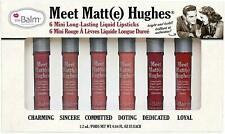 Meet Matt(e) Hughes Limited Edition Set of 6 Mini Long-Lasting Liquid Lipsticks,