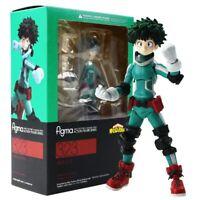 15cm Figma 323 Midoriya Izuku Action Figure My Hero Academia Model Xmas Gift