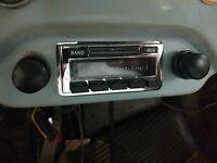 Porsche 356 Vintage Style Stereo Radio AM FM iPOD MP3 Ready fits A B C SC 56-64