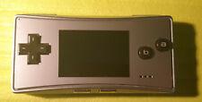 Nintendo Game Boy Micro-plata-hand held-consola de juego-el más pequeño Gameboy