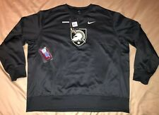 Nike Anthracite Army Black Knights 2017 Sideline Therma-FIT Crew Sweatshirt 4XL