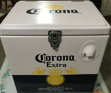 Metal Corona Beer Cooler. NEW. Stainless Steel. Vintage Style. Rare