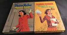 Pair of VTG Marcia Martin Books Donna Parker Special Agent / Takes A Giant Step