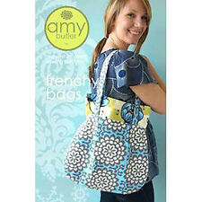 """AMY BUTLER """"FRENCHY BAGS"""" Sewing Pattern"""