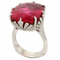 Women Fashion Jewelry 925 Silver Ruby Gem Wedding Engagement Bridal Ring Sz6-10