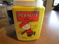 Vintage PEANUTS Charlie Brown Lunchbox THERMOS
