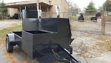 GodZilla Sink Mount BBQ Grill Smoker Trailer Food Truck Catering Street Vendor