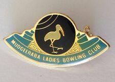 Mudgeeraba Ladies Bowling Club Badge Pin Rare Vintage (M16)