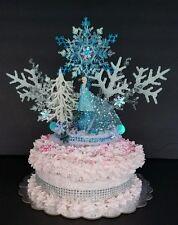 inspired Disney Frozen princess  Elsa cake topper centerpiece decoration