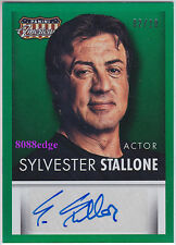 "2015 AMERICANA AUTO: SYLVESTER STALLONE #2/10 AUTOGRAPH ""THE EXPENDABLES/CREED"""