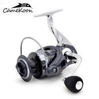 CAMEKOON Spinning Fishing Reel 12+1Bearing High Speed Smooth Drag Saltwater Reel