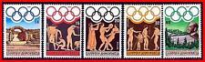 GREECE 1984 LOS ANGELES OLYMPICS SC#1495-99 MNH (E=B2)