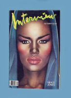 INTERVIEW-OCTOBER 1984- GRACE JONES -MELANIE GRIFFITH-THOMAS DOLBY- PEGGY LEE