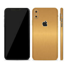 Textured Skin Sticker for Apple iPhone X 10  - Carbon - Wood - Matt - Leather