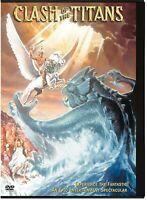 CLASH OF THE TITANS 1981 (DESMOND DAVIS, LAURENCE OLIVIER) - SNAP CASE *NEW DVD*