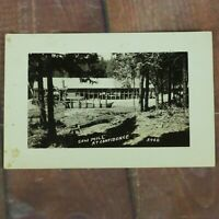RPPC Saw Mill at Confidence CA California Postcard Old Vintage Post Card
