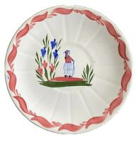 Blue Ridge Pottery Saucer Plate French Peasant China Vintage Decorative Deal