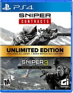 Sniper Ghost Warrior Unlimited Edition - PlayStation 4 (VG)
