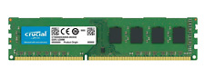 Crucial 8GB DDR3 1600MHZ PC3-12800 240-PIN DIMM RAM MEMORY DESKTOP