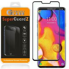 LG V40 ThinQ SuperGuardZ FULL COVER Tempered Glass Screen Protector Guard Shield