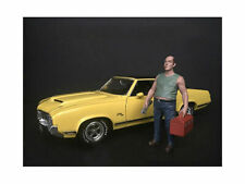 American Diorama 1/24 Mechanic Figure SAM WITH TOOLBOX 38280