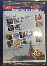 Scott's Destash- #3189a-o 33 Cent  Celebrate the Century 1970s Pane of 15 WA MNH