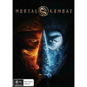 Mortal Kombat BRAND NEW Region 4 DVD