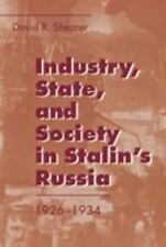 Industry, State, and Society in Stalin's Russia, 1926-1934-ExLibrary