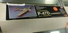 """HOUSE OF BALSA P-47D THUNDERBOLT MODEL AIRPLANE KIT K-12 36"""" WINGSPAN NEW IN BOX"""