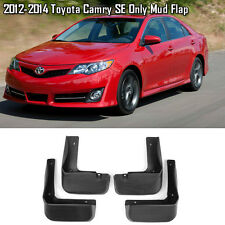 OE Front Rear set 4 Pcs Splash Mud Guards Flaps For 12-14 Toyota Camry SE Only