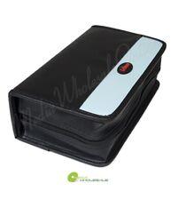120 Discs Portable CD DVD Wallet Holder Bag Case Album Organizer Media Storage