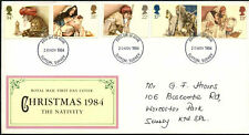 GB FDC 1984 Natale, Sutton Surrey IED #C43879