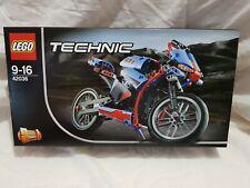 LEGO Technic 42036 Street Motorcycle - BNIB Retired