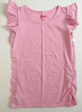 Girls Circo Pink Short Sleeve Ruffle Shirt Top Blouse - Size XL
