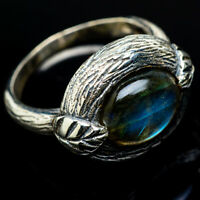 Labradorite 925 Sterling Silver Ring Size 7.75 Ana Co Jewelry R17500F