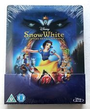 Disney Collection #1 Snow White 1937 Blu-ray Steelbook Limited Edition UK