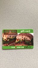 Fresh To Order Gift Card Value $253.21