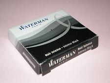 2 Pck. WATERMAN Tintenpatronen schwarz VE 6 Tinte Füller Patrone S0110940