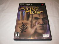 The Legend of Alon D'ar (Playstation PS2) Black Label Original Game Complete Exc