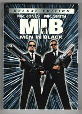 Men In Black (Dvd, 2002, 2-Disc Set, Deluxe Edition) Will Smith free shipping