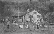 BR36611 Champ du moulin Maison on sejourna J j Rouseau        Switzerland