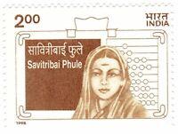INDIA 1998 Savitribai Phule Women Education Campaigner literacy MNH