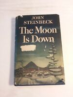 The Moon is Down John Steinbeck 1st ed 1st prt. 2nd issue 1942 in very good cond